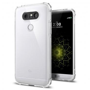 """Obal Spigen """"Crystal Shell"""" pro LG G5 - křišťálově průhledný"""
