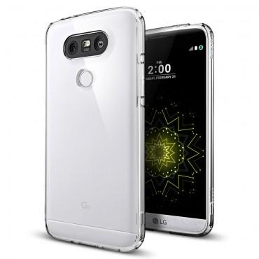 "Kryt Spigen ""Ultra Hybrid"" pro LG G5 - crystal clear"