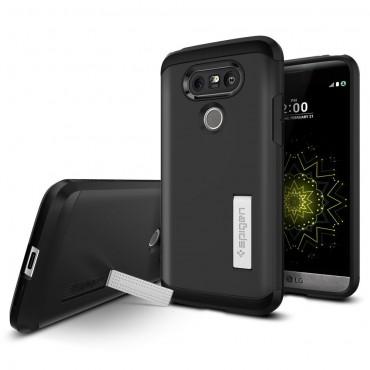 """Obal Spigen """"Tough Armor"""" pro LG G5 - - černý"""