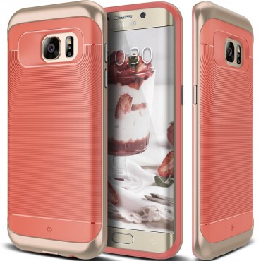 Kryt Caseology Wavelength pro Samsung Galaxy S7 Edge - coral pink
