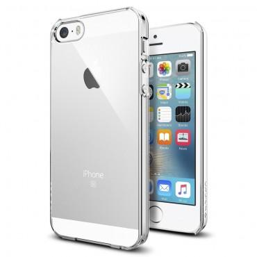 """Obal Spigen """"Thin Fit"""" pro iPhone SE / 5 / 5S - křišťálově jasný"""