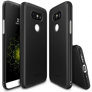 """Obal Ringke """"Slim"""" pro LG G5 - tmavě černý"""