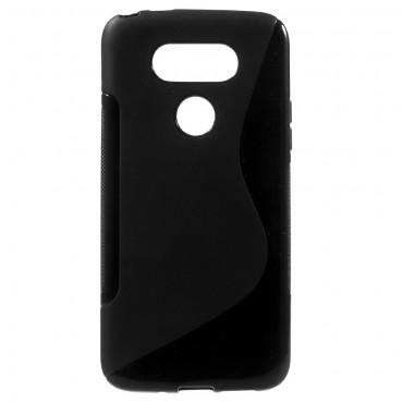 """TPU gelový obal """"S-Line"""" LG G5 - černý"""