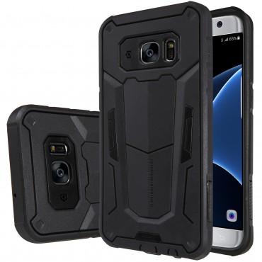 "Robustní obal ""Defender"" pro Samsung Galaxy S7 Edge - černý"