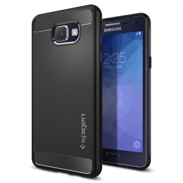 "Kryt Spigen ""Rugged Armor"" pro Samsung Galaxy A5 2016 - black"