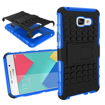 "Hybridní kryt TPU gel ""Tough"" pro Samsung Galaxy A5 2016 - modrý"