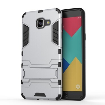"""Robustní obal """"Impact X"""" pro Samsung Galaxy A5 (2016) - stříbrný"""