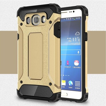 """Robustní kryt """"Rock"""" pro Samsung Galaxy J5 2016 - zlatý"""