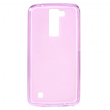 TPU gelový obal pro LG K8 - růžový