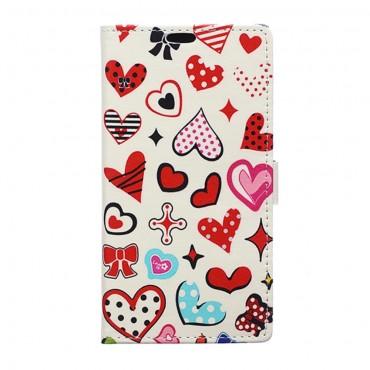 """Módní kryt """"Hearts"""" pro LG K8"""
