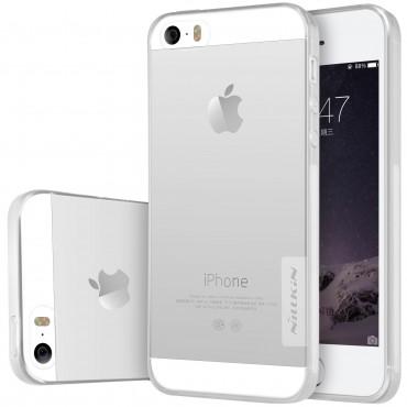 """Prémiový tenký obal """"Nature"""" iPhone SE / 5 / 5S - průhledný"""