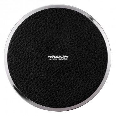 """Bezdrátová nabíjecí stanice """"Magic Disc"""" pro všechna mobilní zařízení podporující QI - černá"""