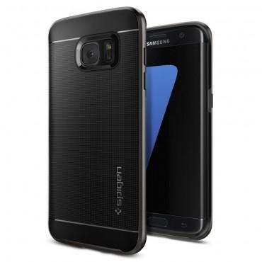 """Kryt Spigen """"Neo Hybrid"""" pro Samsung Galaxy S7 Edge - gunmetal"""