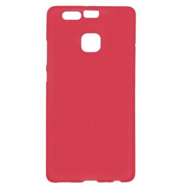 TPU gelový obal pro Huawei P9 - červený