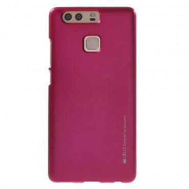 Kryt TPU gel Goospery iJelly Case pro Huawei P9 - magenta