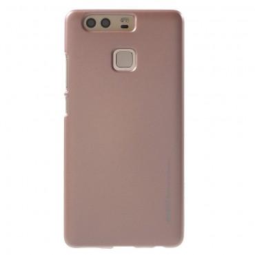 Kryt TPU gel Goospery iJelly Case pro Huawei P9 - růžový