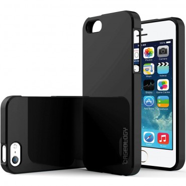Kryt Caseology Daybreak Series pro iPhone SE / 5 / 5S - black