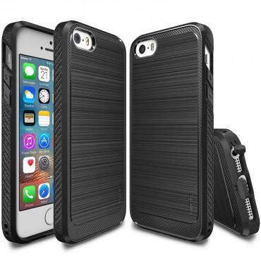 """Kryt Ringke """"Onyx"""" pro iPhone SE / 5 / 5S - černý"""