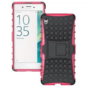 "Robustní kryt TPU ""Tough"" pro Sony Xperia XA - růžový"