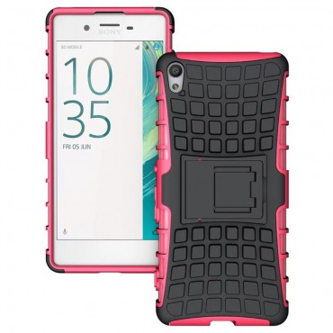 "Robustní TPU obal ""Tough"" pro Sony Xperia XA - růžový"
