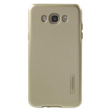 """Robustní kryt TPU """"Dot"""" pro Samsung Galaxy J7 2016 - zlatý"""