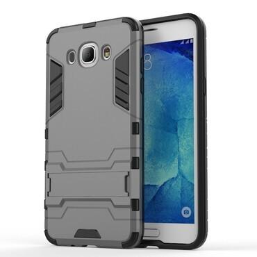 """Robustní kryt """"Impact X"""" pro Samsung Galaxy J7 (2016) - šedý"""
