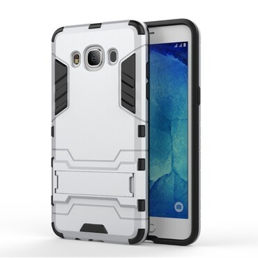 "Robustní kryt ""Impact X"" pro Samsung Galaxy J5 2016 - stříbrné barvy"
