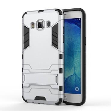 """Robustní obal """"Impact X"""" pro Samsung Galaxy J5 (2016) - stříbrný"""
