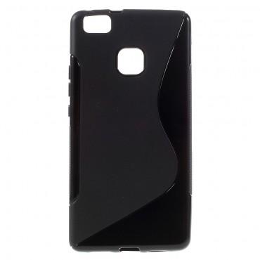 """TPU gelový obal """"S-Line"""" Huawei P9 Lite - černý"""