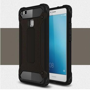"""Robustní kryt """"Rock"""" pro Huawei P9 Lite - černé"""