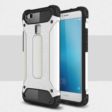 """Robustní obal """"Rock"""" pro Huawei P9 Lite - bílý"""