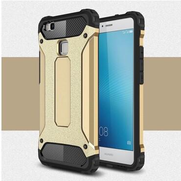 """Robustní kryt """"Rock"""" pro Huawei P9 Lite - zlatý"""
