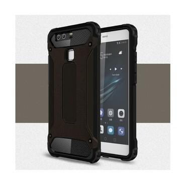 """Robustní obal """"Rock"""" pro Huawei P9 - černý"""