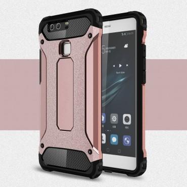 """Robustní obal """"Rock"""" pro Huawei P9 - růžový"""