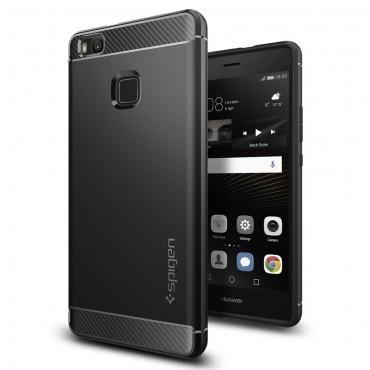 "Kryt Spigen ""Rugged Armor"" pro Huawei P9 Lite - black"