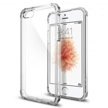 """Obal Spigen """"Crystal Shell"""" pro iPhone SE / 5 / 5S - křišťálově průhledný"""