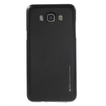 Kryt TPU gel Goospery iJelly Case pro Samsung Galaxy J7 2016 - černé