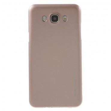 Kryt TPU gel Goospery iJelly Case pro Samsung Galaxy J7 2016 - růžový