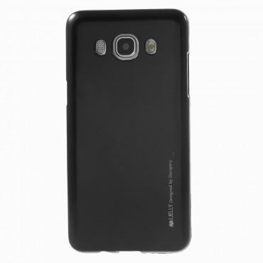 Kryt TPU gel Goospery iJelly Case pro Samsung Galaxy J5 2016 - černé
