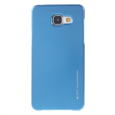 Kryt TPU gel Goospery iJelly Case pro Samsung Galaxy A5 2016 - modrý
