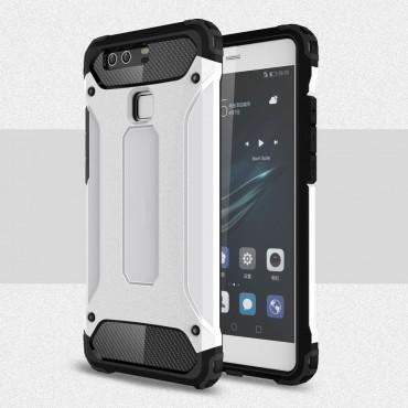 """Robustní obal """"Rock"""" pro Huawei P9 - bílý"""
