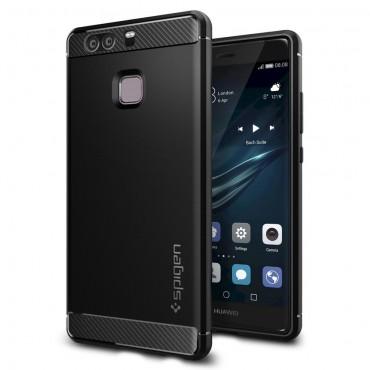 "Kryt Spigen ""Rugged Armor"" pro Huawei P9 - black"