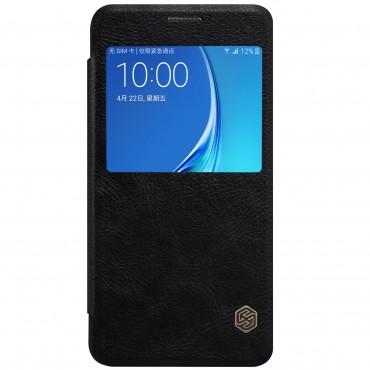 """Elegantní pouzdro """"Qin"""" pro Samsung Galaxy J7 2016 - černé"""