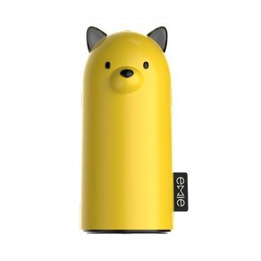 Emie Samo prémiová powerbanka - 5200 mAh - slunečně žlutá