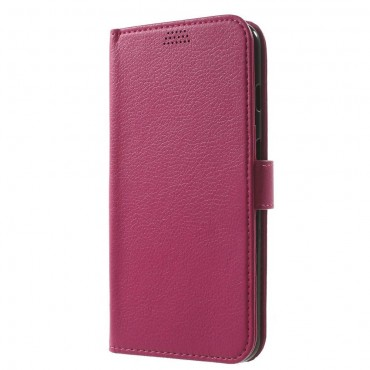 "Elegantní kryt ""Litchi"" pro iPhone 8 Plus / iPhone 7 Plus - růžový"