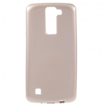 TPU gelový obal Goospery iJelly Case LG K8 - růžový