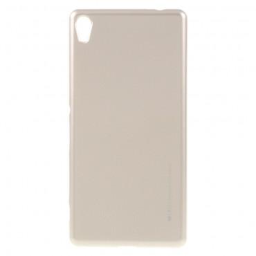 Kryt TPU gel Goospery iJelly Case pro Sony Xperia XA - zlatý