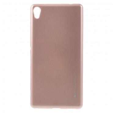 Kryt TPU gel Goospery iJelly Case pro Sony Xperia XA - růžový