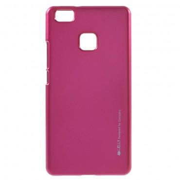 Kryt TPU gel Goospery iJelly Case pro Huawei P9 Lite - magenta