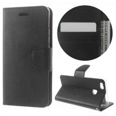 Kryt Goospery Bravo Diary pro Huawei P9 Lite - černý
